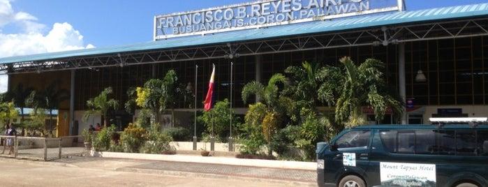 Francisco B. Reyes Airport (USU) is one of Filipinler-Manila ve Palawan Gezilecek Yerler.