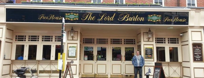 The Lord Burton's (Wetherspoon) is one of Locais curtidos por Carl.