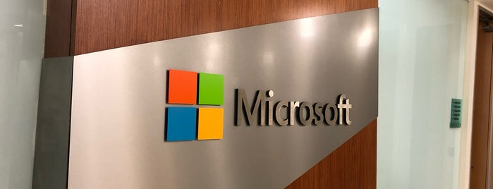Microsoft Corp is one of Lieux qui ont plu à Patty.