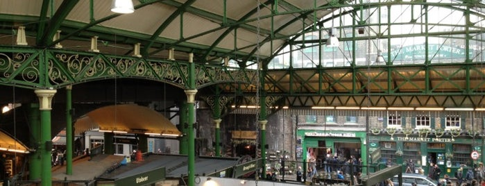 Borough Market is one of Where to go in London.