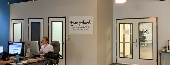 Gangplank HQ is one of Places to try.