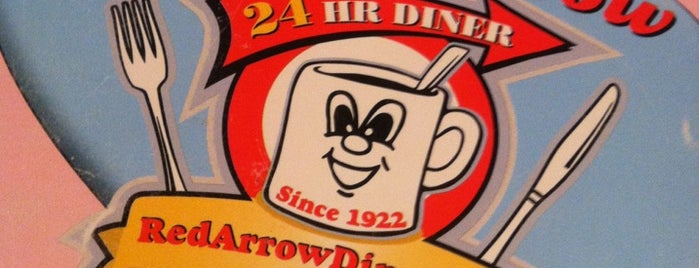 Red Arrow Diner is one of NE road trip.