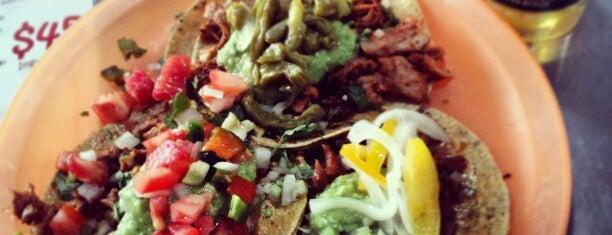 El Ke taco is one of Polank.