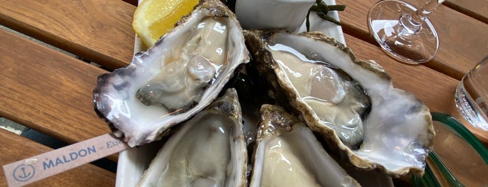 Oystermen Seafood Bar & Kitchen is one of London.