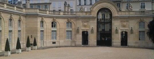Palais de l'Élysée is one of The National Palace.