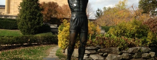 Rocky Statue is one of Philly.