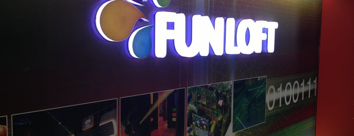 FUNLOFT is one of Havvanur 님이 좋아한 장소.