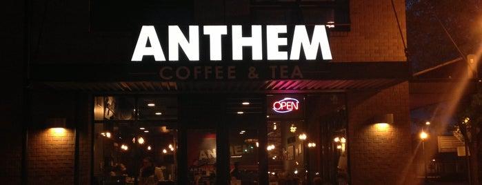 Anthem Coffee & Tea is one of สถานที่ที่ Stephen ถูกใจ.