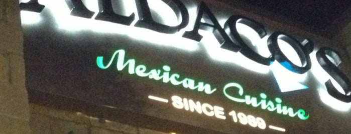 Aldaco's Mexican Cuisine is one of SAT / AUS.