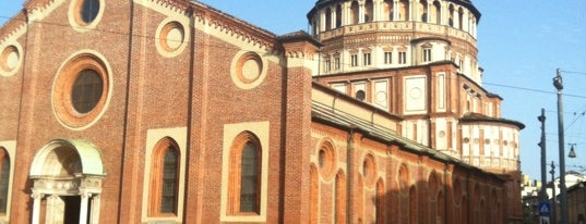 Santa Maria delle Grazie is one of World Heritage Sites!!!.