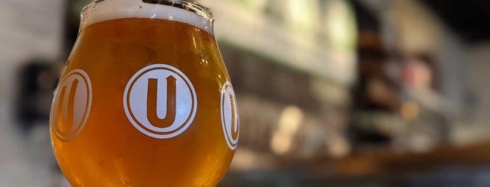 Upstreet Craft Brewing is one of สถานที่ที่ Chuck ถูกใจ.