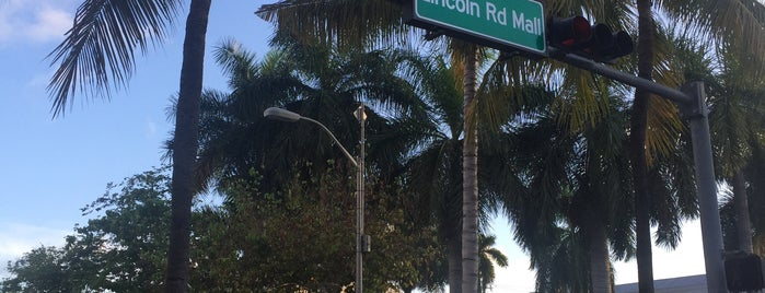 Lincoln Road is one of South Beach Miami.