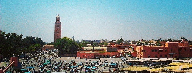 Place Jemaa el-Fna is one of Morocckin' Marrakech.