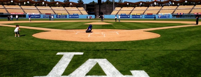 Dodger Stadium is one of L.A. My Places.