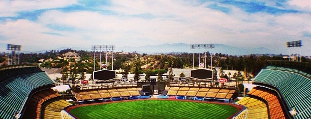 Dodger Stadium is one of California - The Golden State (Southern).