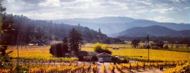 Robert Sinskey Vineyards is one of california wine country.