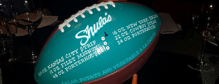 Shula's Steak House is one of test.
