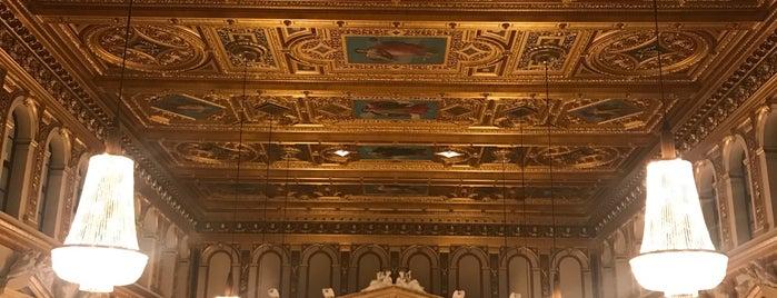 Wiener Musikverein - Steinerner Saal is one of Vienna.