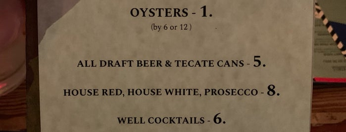 Seamore's is one of Oyster happy hour.