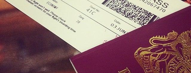 Virgin Atlantic is one of Airports.
