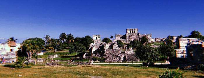 Tulum Mayan Ruins is one of MEX.