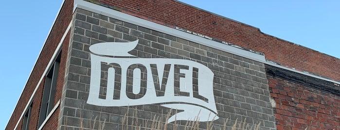 Novel is one of Locais curtidos por Nick.