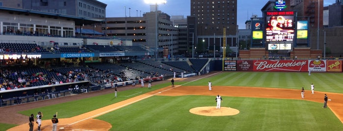 Fifth Third Field is one of Orte, die Jason gefallen.
