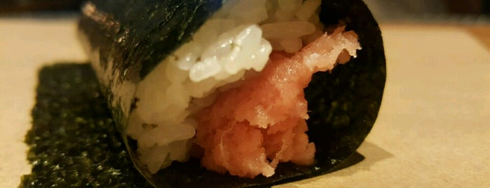 KazuNori: The Original Hand Roll Bar is one of Adela's favorite restaurants.