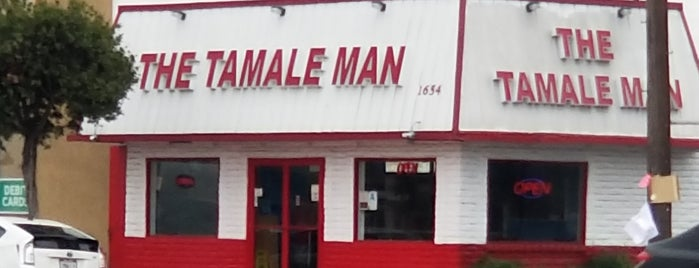 The Tamale Man is one of LA Lunch.