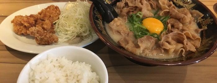 博多中洲屋台ラーメン 一竜 名古屋栄店 is one of Tempat yang Disimpan issinta.