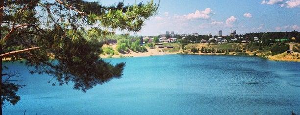 Озеро Изумрудное (Карьер) is one of Orte, die Yunus gefallen.