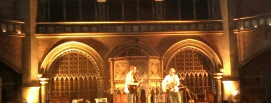 Union Chapel is one of London to do's.