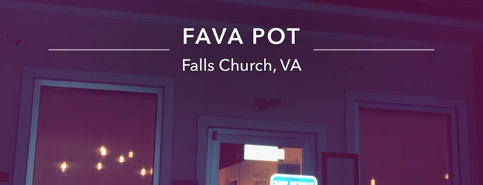 Fava Pot is one of Two Puffins in DC.