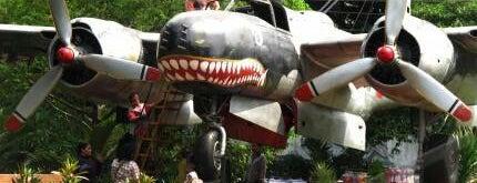 Monumen Pesawat Bomber B-26 Intruder is one of Characteristic of Surabaya.