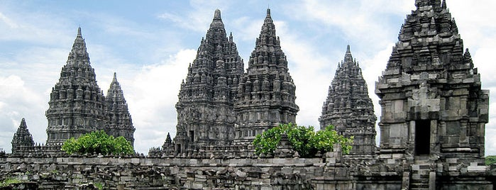 Candi Prambanan (Prambanan Temple) is one of Temples and statues in Indonesia.