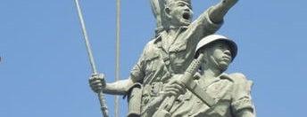 Monumen Wira Surya Agung is one of Characteristic of Surabaya.