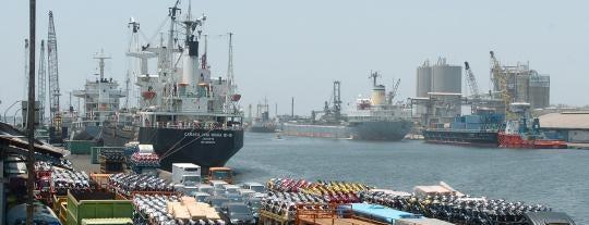 Pelabuhan Tanjung Perak is one of Characteristic of Surabaya.