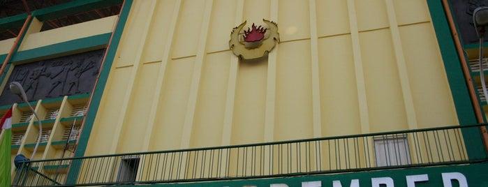 Stadion Gelora 10 Nopember is one of Characteristic of Surabaya.