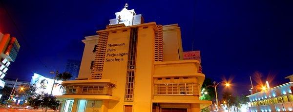 Monumen Pers Perjuangan Surabaya is one of Characteristic of Surabaya.