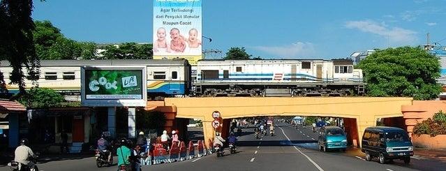 Viaduct Kertajaya is one of Characteristic of Surabaya.