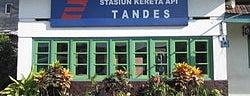 Stasiun Tandes is one of Characteristic of Surabaya.