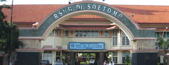RSUD Dr. Soetomo is one of Characteristic of Surabaya.