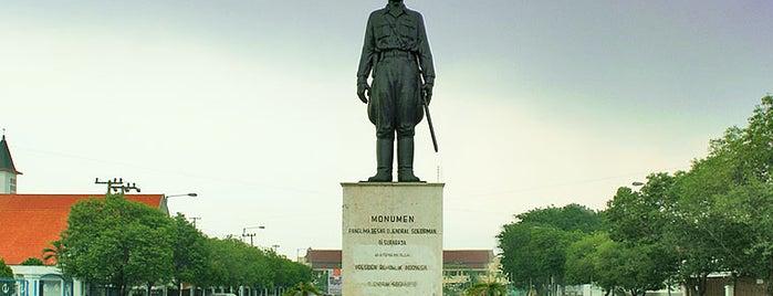 Monumen Panglima Besar Jenderal Sudirman is one of Characteristic of Surabaya.