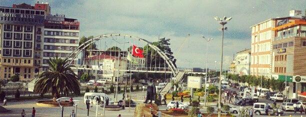 Atatürk Meydanı is one of Tempat yang Disukai ayşegül.