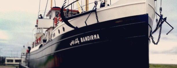 Bandırma Gemi Müze ve Milli Mücadele Açık Hava Müzesi is one of Gittiğim Önemli Yerler.
