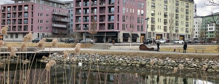 Norra Djurgårdsstaden is one of Lieux qui ont plu à Cristina.