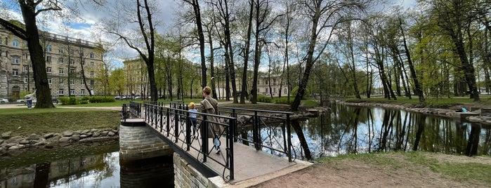 Мостик в Лопухинском Саду is one of Мосты Санкт-Петербурга.