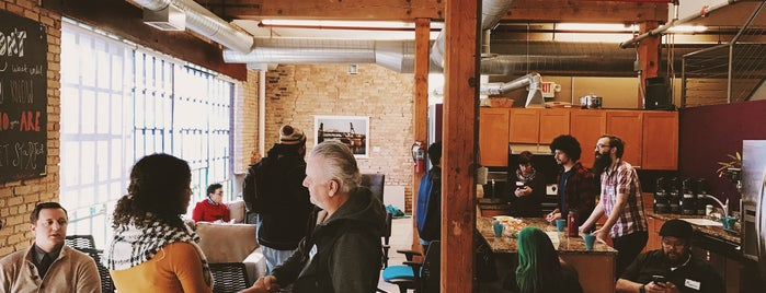 CoCo Coworking and Collaborative Space is one of Places to be inspired..