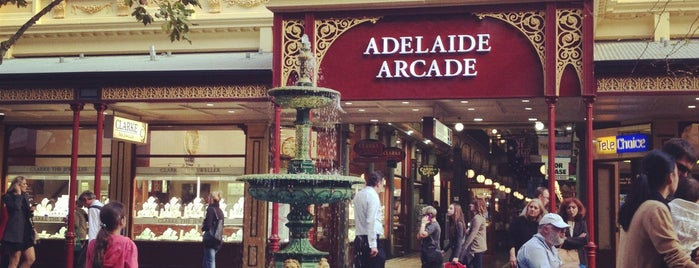 Adelaide Arcade is one of Lieux qui ont plu à Dave.