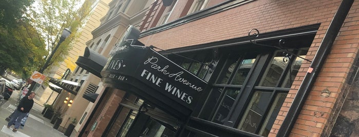 Park Avenue Fine Wines is one of Portland Bars To Do.